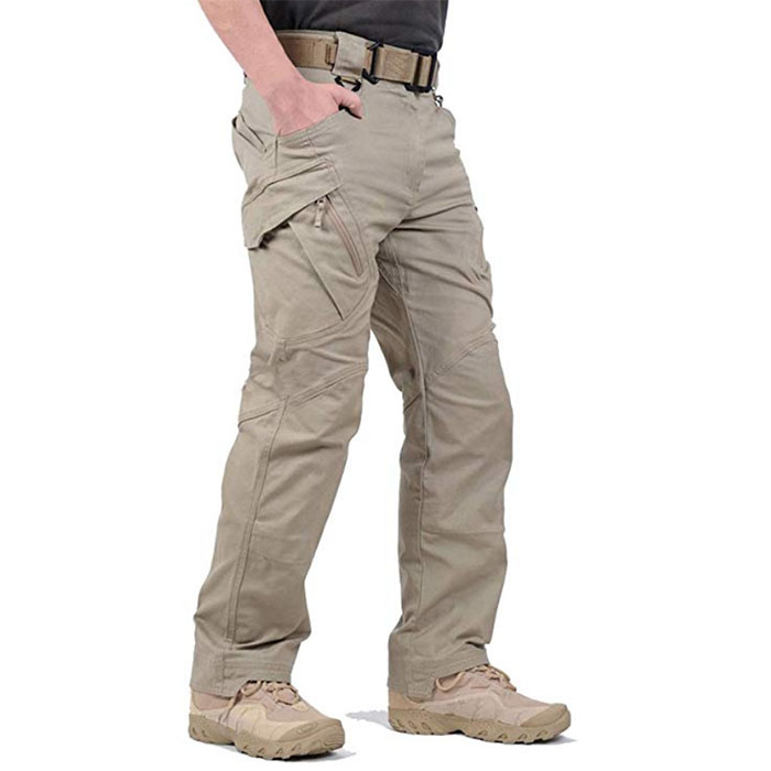 Factory wholesale Custom Embroidered Hoodies - Rip-Stop Causal Cargo Pants Men – Westfox