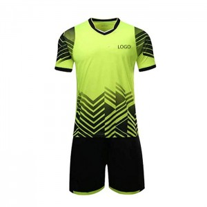 Boys' Soccer Jerseys Sports Team Training Uniform Youth Shirts and Shorts Set Indoor Soccer