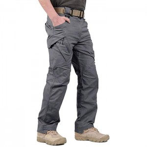 Rip-Stop Causal Cargo Pants Men