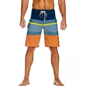Factory wholesale Waterproof Pockets Swim Trunks -