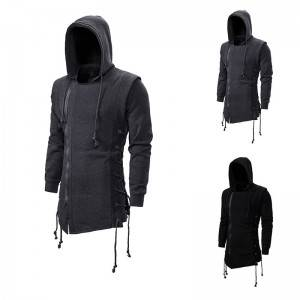 Zipper Hoodies Slim Fit Fall Casual Long Sleeve Plus Size