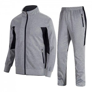Sports Casual Full Zip Sweatsuit