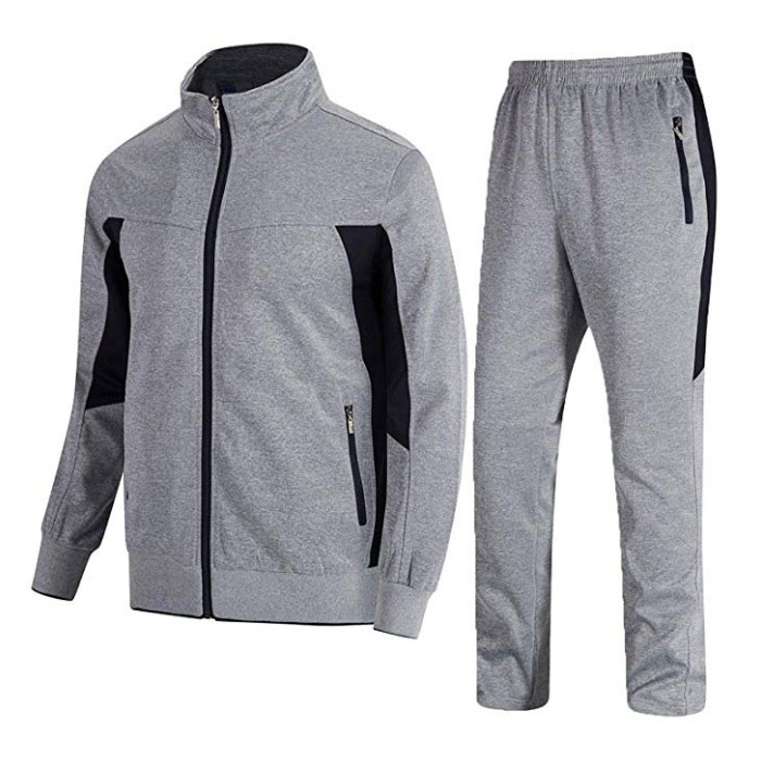 Sports Casual Full Zip Sweatsuit  Featured Image