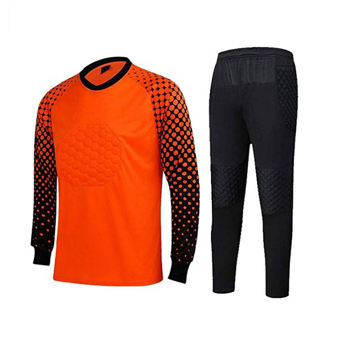 OEM Supply Cross Back Sports Bra - Men's Football Goalkeeper Foam Padded Jersey Shirt & Pants/Shorts – Westfox