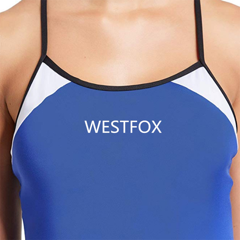 Wholesale Price China Mens Office Uniform Shirts - Adjustable Strap One Piece Swimsuit Swimwear Bathing Suit Women – Westfox detail pictures