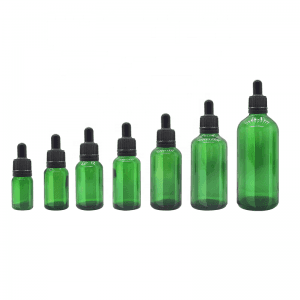 5ml 10ml 15ml 20ml 30ml 50ml 100ml Round Essential Oil Tamper Evidence Dropper Bottle