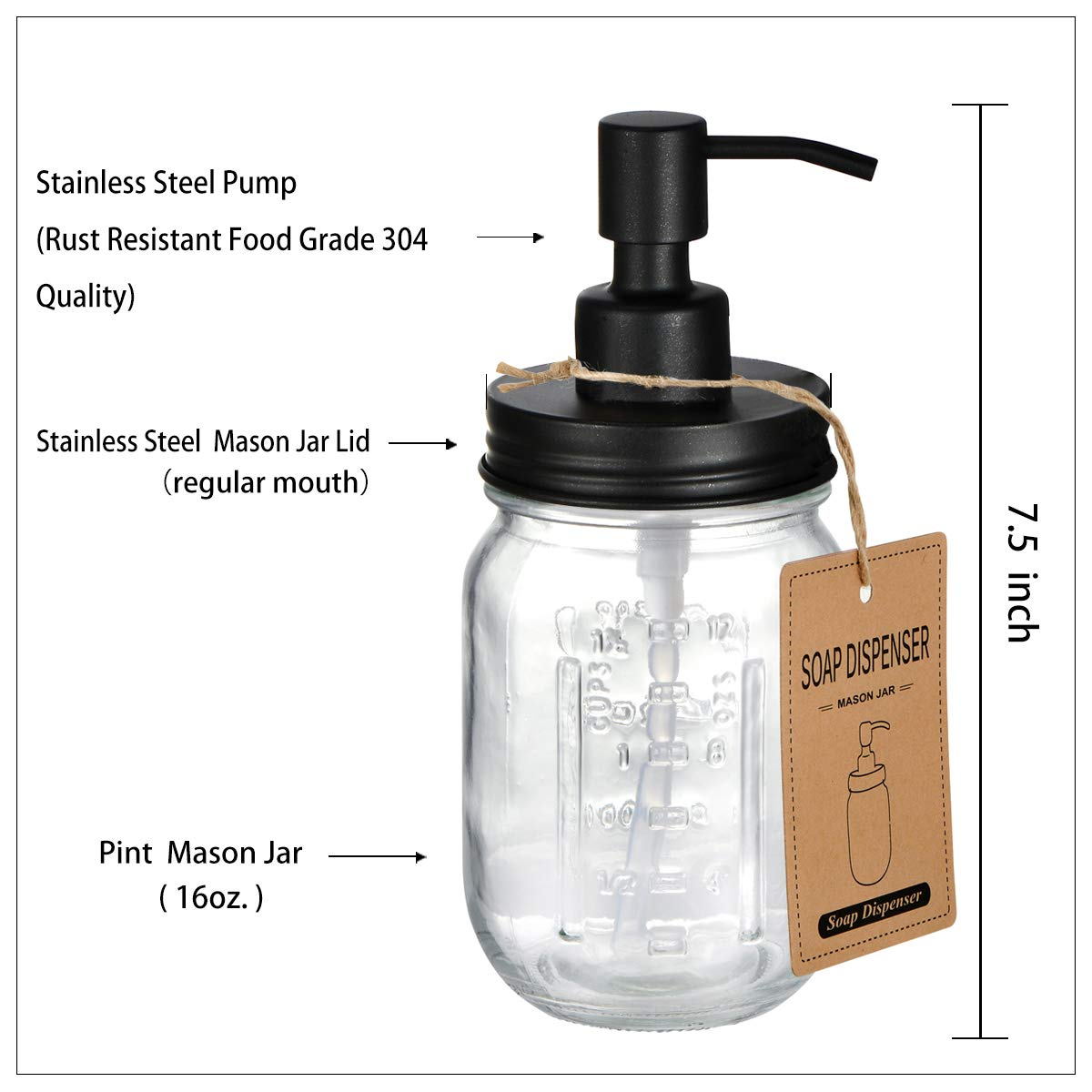 Bathroom Accessories Set Soap Dispenser