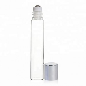 Roll On Tubular Glass Vial 5Ml Rollerball Vintage Perfume Oil Roller Bottles