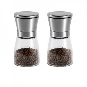 Hot Sale 150ml Seasoning Bottle Spice Jars with Grinder Head