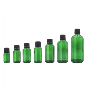 10ml 20ml 30ml 50ml 100ml Essential Oil Dropper Bottle with Plastic lid and Reducer Hot Sale Stocked