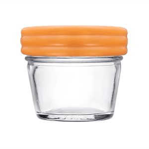 4oz 120ml Wide Mouth Glass Mason Jar for Baby Food Jam Storage with Lid