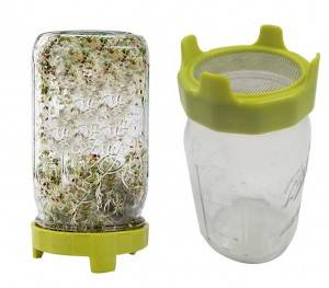 High Quality Wide Mouth 86mm Sprouting Lid for Mason Jar