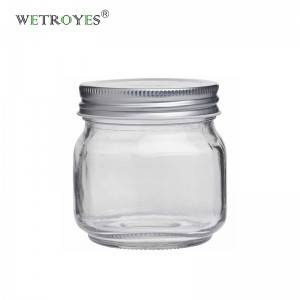 8oz 240ml Round Regular Mouth Glass Mason Jar