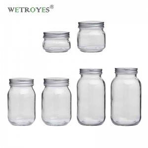 Wholesale Glass Mason Jar with Lid