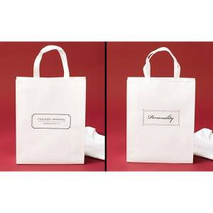 Recycled Reusable Custom Elegant Bags Folding Non Woven