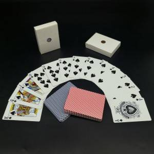 310gsm German Blackcore Paper Printed Poker Card Playing Card For Casino