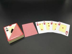 Poker Club Gambling Barcode Plastic Casino Playing Card Poker