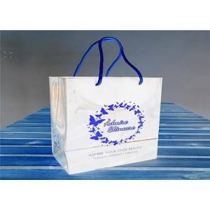 Jewelry Packaging Bags OEM Paper Gift Bags With Customized Printed Logo