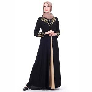 2018 new model islamic clothing muslim dress dubai abaya