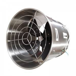 Greenhouse Cooling and Circulation Fan Ventilation Product ZLFJ400/500, Stainless Steel