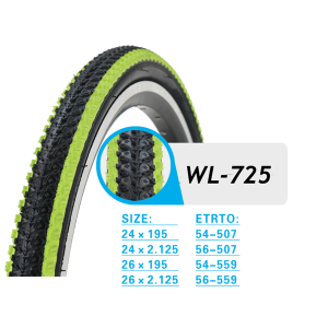COLOR BICYCL TIRE WL725