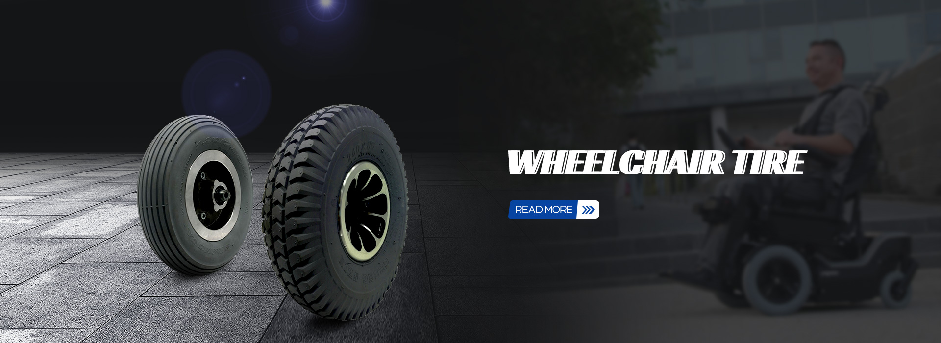 WHEELCHAIR TIRE