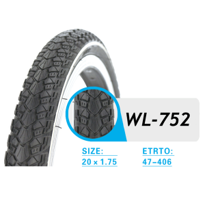 FOLDING BICYCLE TIRE WL752