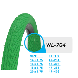 COLOR BICYCL TIRE WL704