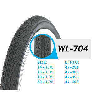 FOLDING BICYCLE TIRE WL704