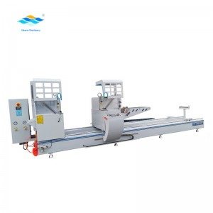 Automatic double head 45 degree cutting machine