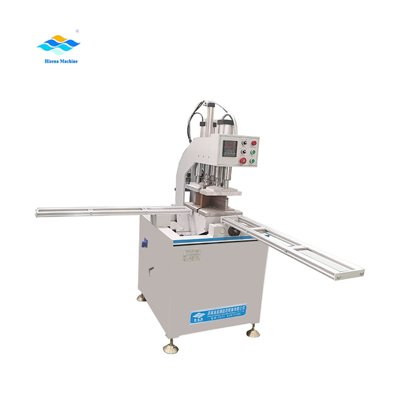 PVC window corner welding machine single head