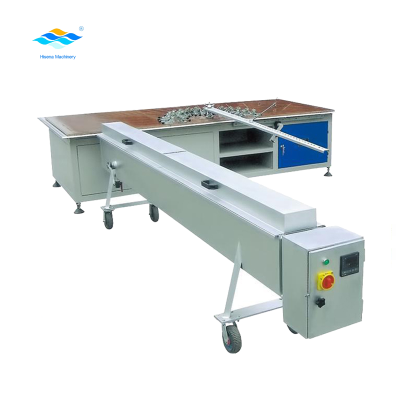 pvc window profile bending machine