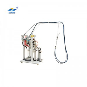 Two component sealing machine