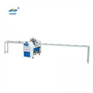 Upvc mullion profile cutting machine