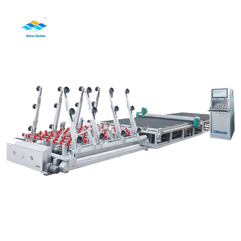 Automatic glass cutting machine, laminated glass cutting machine production line