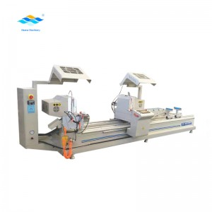 cnc double head cutting machine for window and door making