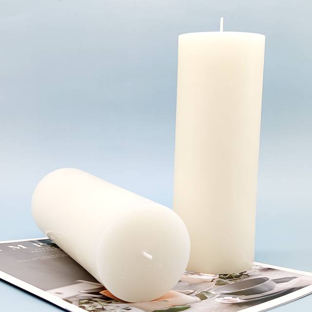 factory customized Travel Candle Set - 7.8 inch height Paraffin wax pillar candle – Winby