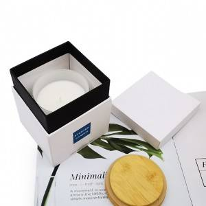 Promotional Custom Luxury Soy Wax Scented Candles Gift Set