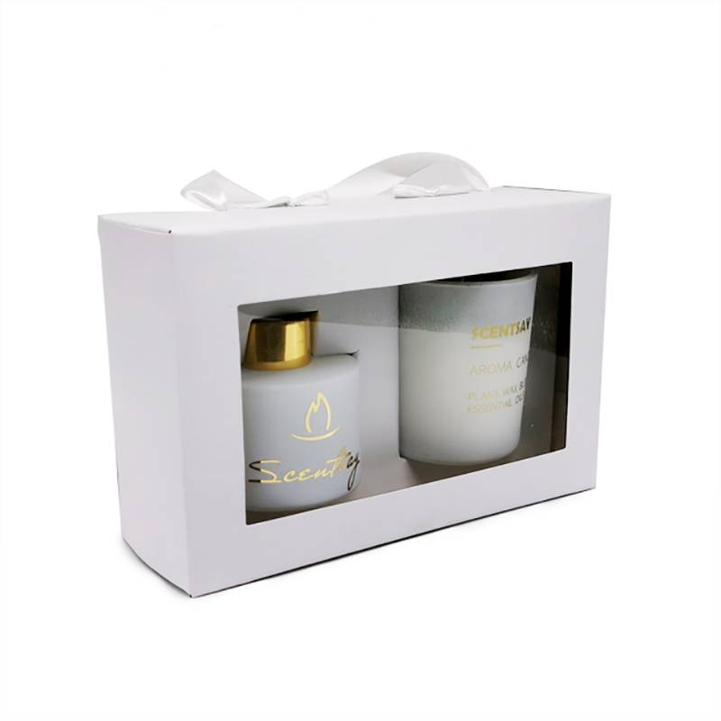 Special Design for Wedding Candle - reed diffuser aroma scented candle gift set – Winby