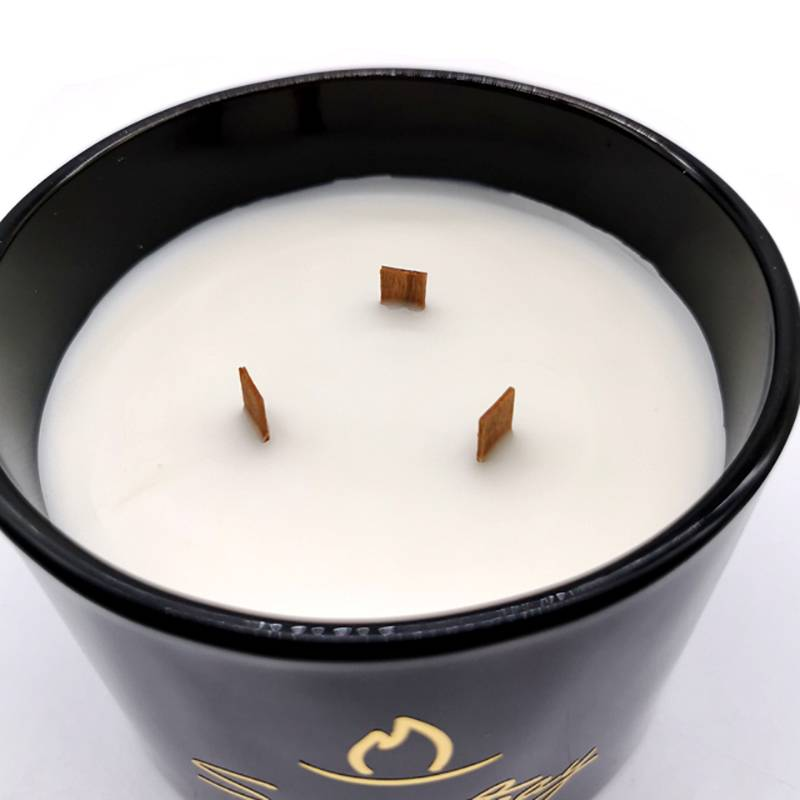 Professional Design Small Yankee Candles - Three wooden wicks scented natural decorative candle – Winby