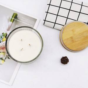 2018 New Style Candle Company - transparent glass jar scented candle  – Winby