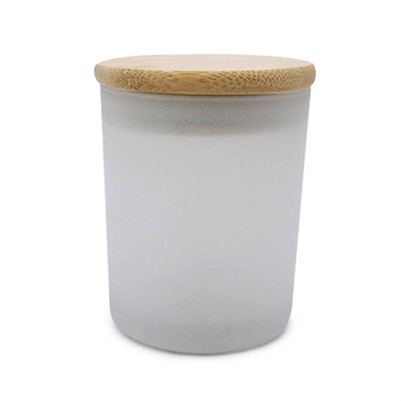 Manufacturer of Tumbler Candle Jars - frosted empty candle container glass jar – Winby