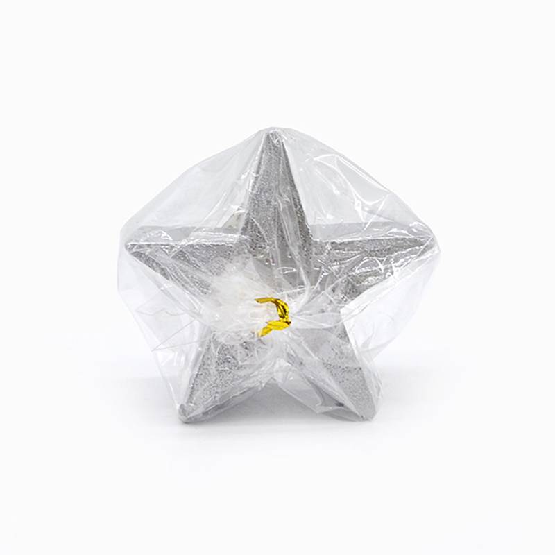 Wholesale Non Toxic Candles - Star Shape Christmas Art Candle – Winby
