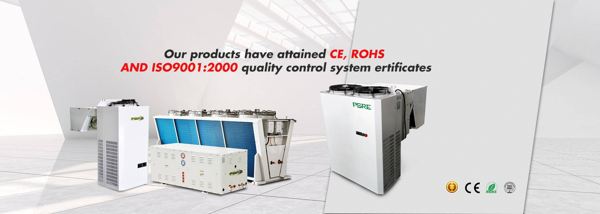 our products have attained CE, RoHS  and ISO9001:2000 quality control system ertificates