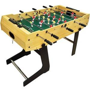 "48"" Foldable Foosball Table for Adults & Kids Save Space Fancy  