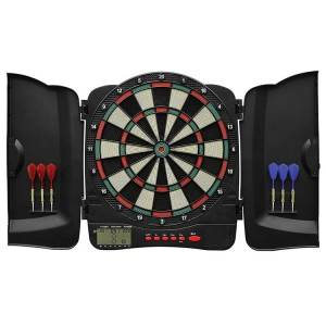 Wholesale Digital Dart Board – Dart Cabinet with Plastic Doors for 1-8 Players | WIN.MAX