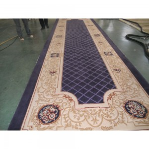 Factory supplied Fire-Retardant Carpet -