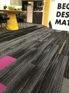 Top Quality Grey Commercial Carpet -