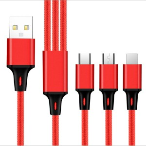 Nylon one drag three data cable