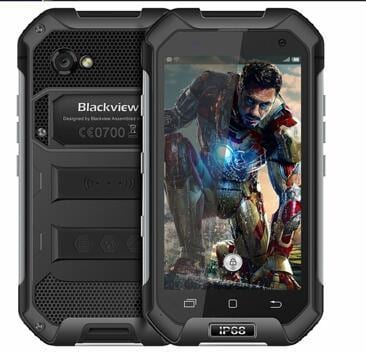 Blackview BV6000 4.7 Inch 4G Smartphone IP68 Waterproof Smart Phone